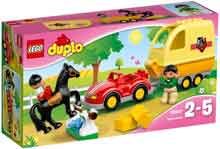 LEGO Duplo Paardentrailer