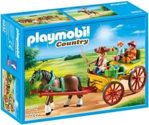 Playmobil Paard en Wagen Playmobil Country 6932