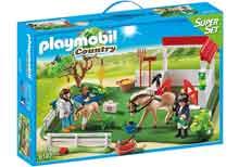 Play Mobile Paardendokter Eertse Hulp Stal