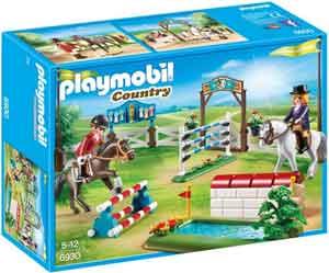Playmobil Paardenwedstrijd Sprinconcours Playmobil 6930