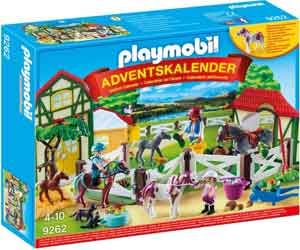 Playmobil Paardrijclub Advendskalender Playmobil 9262