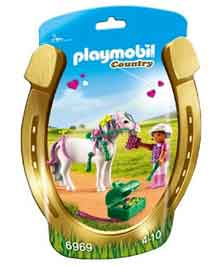 Playmobil Pony Hart Country Serie
