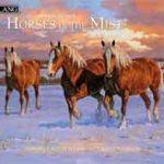 Paardenkalender Horses in the Mist