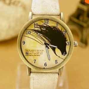 Paarden Horloge Hetty's Bronskleurig