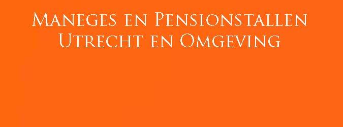 Maneges Utrecht Pensionstallen